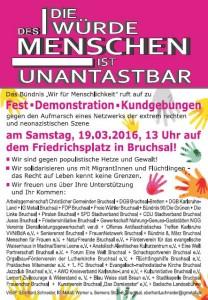 Plakat Bruchsal cover